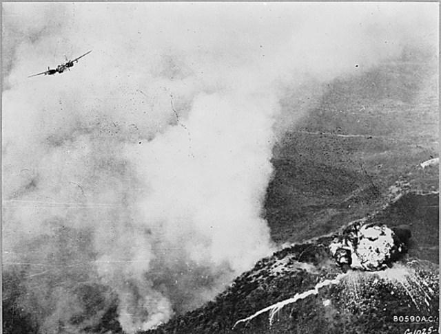 Napalm na Guerra da Coreia.