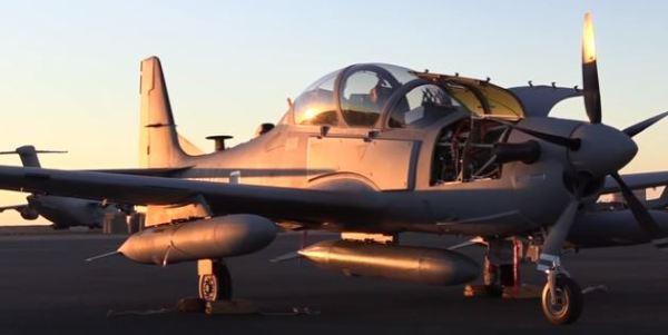 A Nigéria está visando adquirir 12 aeronaves Super Tucanos, que seriam fabricadas nos EUA. (Foto: U.S. Air Force)