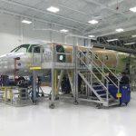Embraer inaugura nova linha de montagem para os jatos Legacy 450 e Legacy 500 nos EUA