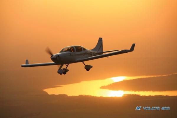 O Volato 400 será o primeiro modelo fabricado pela Stratus.