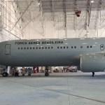 IMAGENS: Boeing C-767 da FAB com sua pintura finalizada
