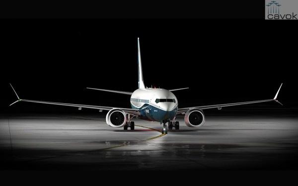 A grande estrela da Boeing em Farnborough será o 737 MAX. (Foto: Boeing)