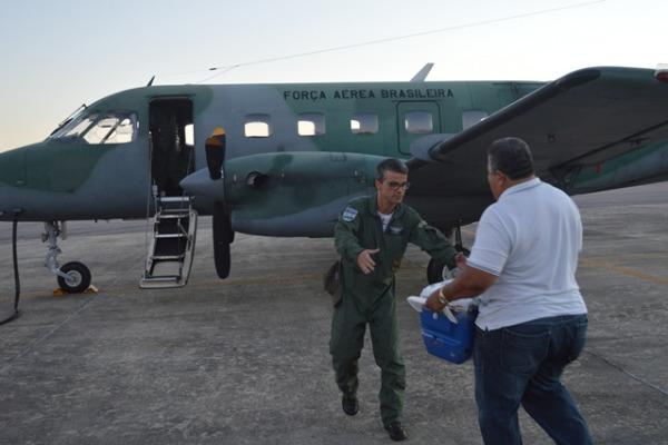 Desde 2013 a FAB realiza essas missões de apoio. (Foto: Agência Força Aérea)
