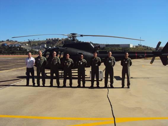 O helicóptero Fennec foi entregue para Aviação do Exército em Taubaté. (Foto: Helibras)