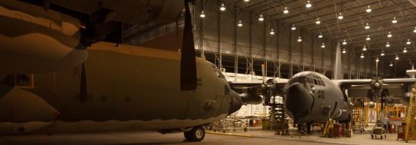Hangar de manutenção da OGMA em Alverca. (Foto: OGMA)