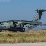 IMAGENS: KC-390 é apresentado em Portugal