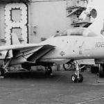 """Caça F-14A Tomcat """"Fast Eagle 102"""" começa a ser restaurado"""