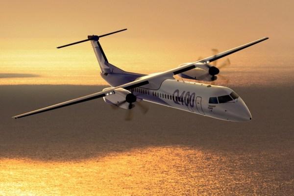 Governo da Tanzânia adquiriu dois turboélices Q400 para transporte de passageiros. (Foto: Bombardier)