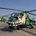 Russian Helicopters assina contrato de suporte de peças para helicópteros Mi-35 do Peru