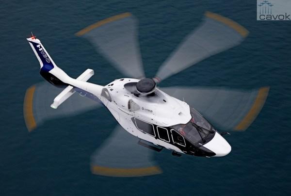Pontos fundamentais de design do projeto do H160 foram confirmados e superaram as expectativas durante os testes. (Foto: Anthony Pecchi / Airbus Helicopters)