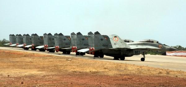 Segundo o relatório, 62 porcento dos MiG-29K estão com problemas de manutenção e sem operar.