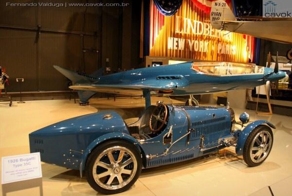 A aeronave original do Bugatti 100P esyá exposta no Museu da EAA em Oshkosh. (Foto: Fernando Valduga / Cavok)