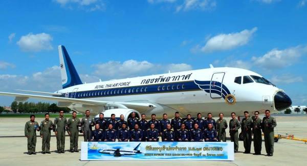 A Real Força Aérea da Tailândia colocou em serviço as duas primeiras aeronaves Sukhoi Business Jet configuradas para o transporte VVIP. (Foto: Sukhoi Superjet International)