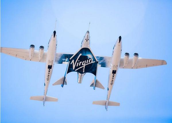 Todos os dados do voo serão agora analisados antes de um novo voo ser marcado. (Foto: Virgin Galactic)