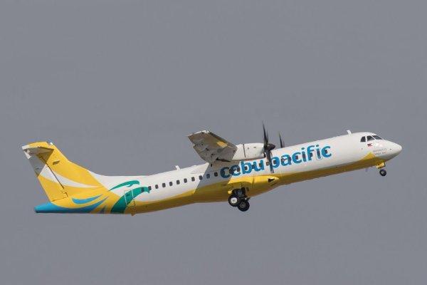O ATR 72-600 High Capacity entregue para Cebu Pacific. (Foto: ATR)