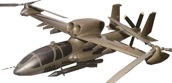 A proposta de helicóptero de combate V-100 da Kamov.