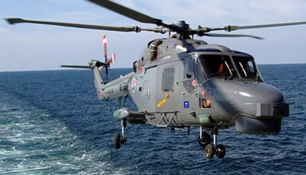 Um helicóptero Lynx Mk 99 da Marinha Sul Coreana (ROK).
