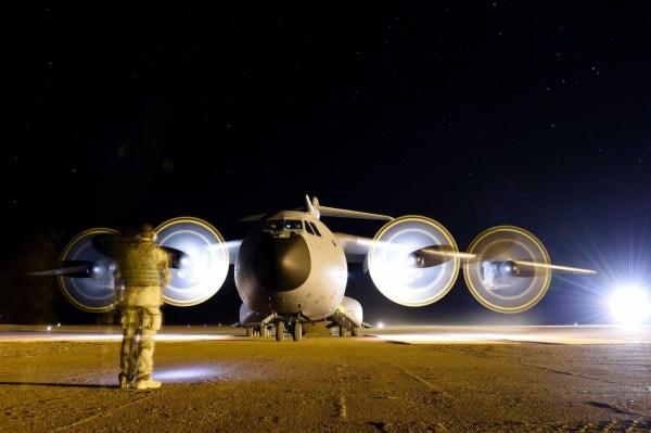 A operação noturna foi um dos desafios realizado pela Força Aérea Francesa. (Foto: Armée de L'Air)