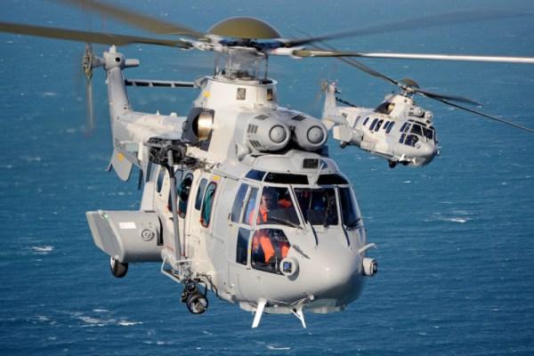 A Real Força Aérea da Tailândia encomendou dois helicópteros EC725 Caracal adicionais. (Foto: Airbus Helicopters)