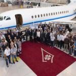 Dassault entrega o primeiro jato executivo Falcon 8X