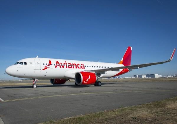 O primeiro Airbus A320neo da Avianca Brasil. (Foto: Airbus)