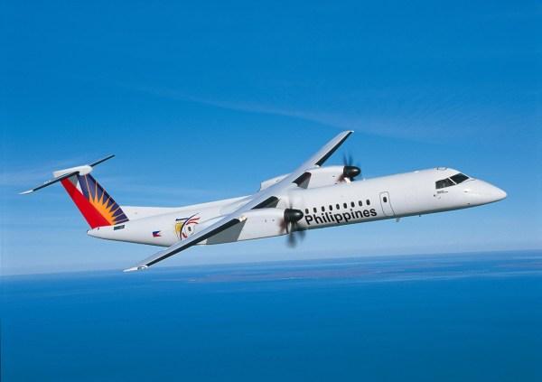 As novas 12 aeronaves Q400 das Philippines Airlines terão uma configuração de 86 assentos em duas classes. (Foto: Bombardier)
