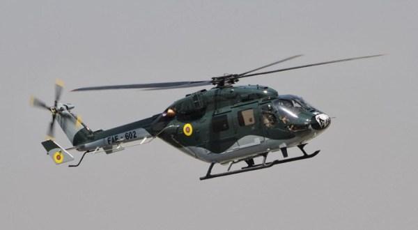 Os 3 helicópteros remanescentes com as Forças Militares do Equador serão vendidas, devido a problemas recorrentes.