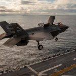 IMAGENS: Fuzileiros Navais dos EUA iniciam testes do F-35B no USS America