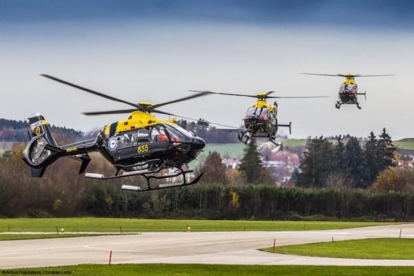 Os últimos seis helicópteros EC135 T+ do programa HATS foram entregues pela Airbus Helicopters para a Boeing Defense Australia. (Foto: Christian Keller / Airbus Helicopters)