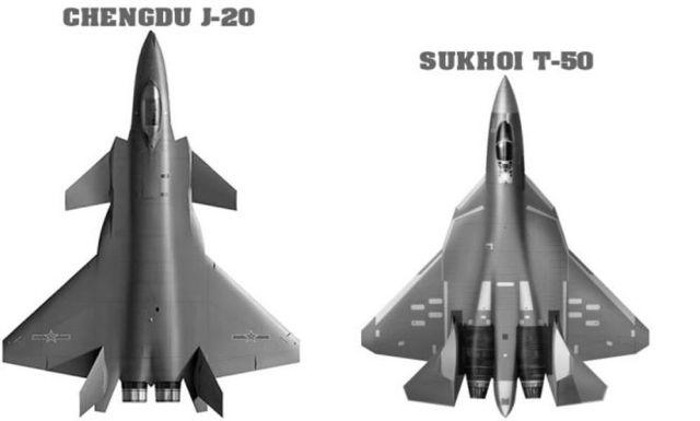 sukhoi_t_50_chengdu_j_20_fighters