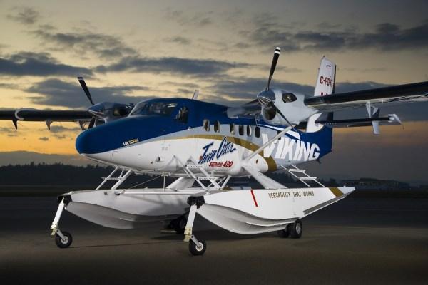 O bimotor turboélice Twin Otter Series 400 agora certificado no Brasil. (Foto: VikingAir)