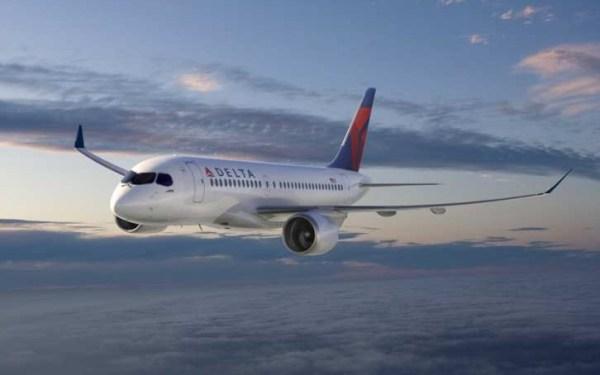 A Delta Airlines fechou um pedido para aeronaves CSeries no começo de 2016. (Foto: Bombardier)