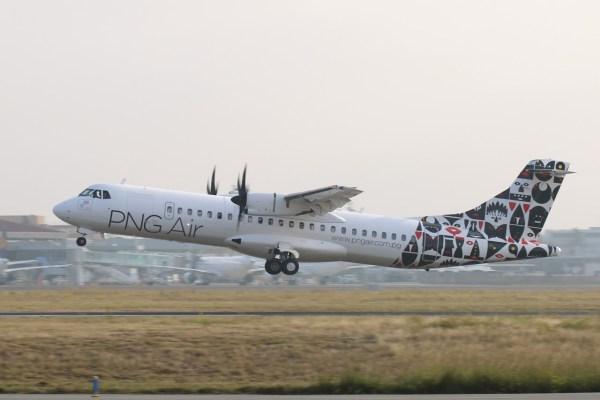 Um ATR 72-600 da companhia aérea PNGAir de Papua Nova Guiné. (Foto: ATR)
