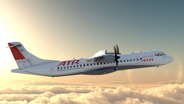 O grupo Synergy Aerospace adquiriu 12 novas aeronaves ATR 72-600 para nova subsidiária argentina. (Foto: ATR)