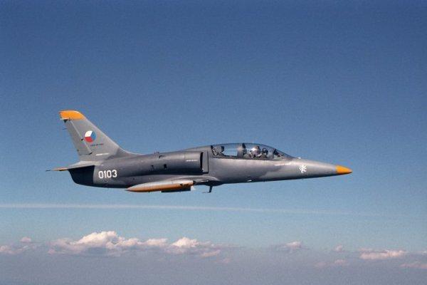 L-39NG em voo. Foto: L-39NG.cz