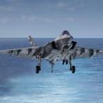 F-35C pode ter seu trem de pouso frontal redesenhado