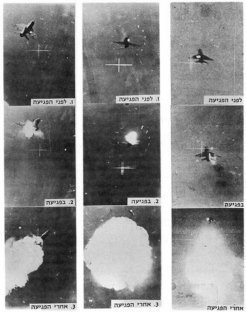MiG 21 egito 4 - Guerra do Yom Kippur: SAM x Phantom