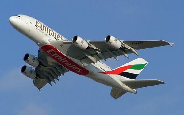A380emirates 3135554b 600x375 - Airbus A380 confirmado para início de voos diários entre Guarulhos-Dubai