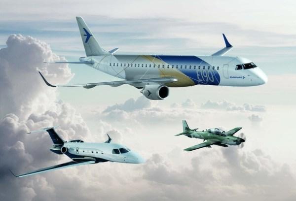 Embraer E2016 600x408 - Embraer atinge metas com entrega de 108 jatos comerciais e 117 executivos em 2016