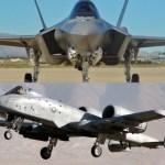 """Competição """"flyoff"""" entre o A-10 e F-35 pode começar em 2018"""