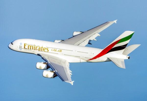 The Emirates A380 600x412 - Airbus A380 confirmado para início de voos diários entre Guarulhos-Dubai