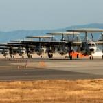 VÍDEO: Aviões E-2D Advanced Hawkeye chegam ao Japão