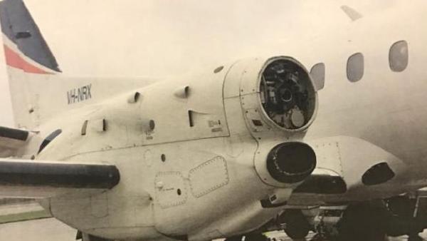 41a042a1ec9509755f5bb328e2a85d29 600x338 - IMAGEM: Saab 340 perde hélice em voo e pousa em segurança na Austrália