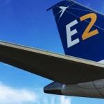 IMAGENS: Embraer E190-E2 passa por testes iniciais de formação de gelo