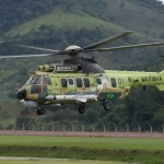 Helicóptero H225M Naval armado da Helibras estará na LAAD