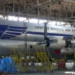 C-97 Stratofreighter reformado prestes a retornar a voar