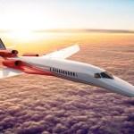 Aerion escolheu a GE Aviation para estudar o desenvolvimento de motores para seu jato executivo supersônico