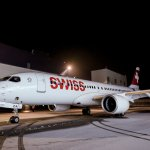 Bombardier entrega o primeiro CS300 para companhia aérea SWISS
