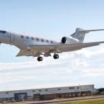 Terceiro Gulfstream G600 entra no programa de testes de voo