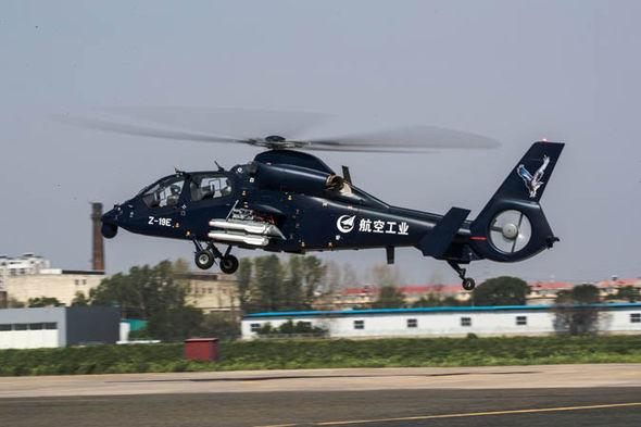 china z19e attack helicopter military reform 939220 - VÍDEO E IMAGENS: Helicóptero armado chinês Z-19E realiza voo inaugural